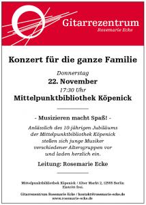 22.11.2018 - Konzert für die ganze Familie - Mittelpunktbibliothek_v2